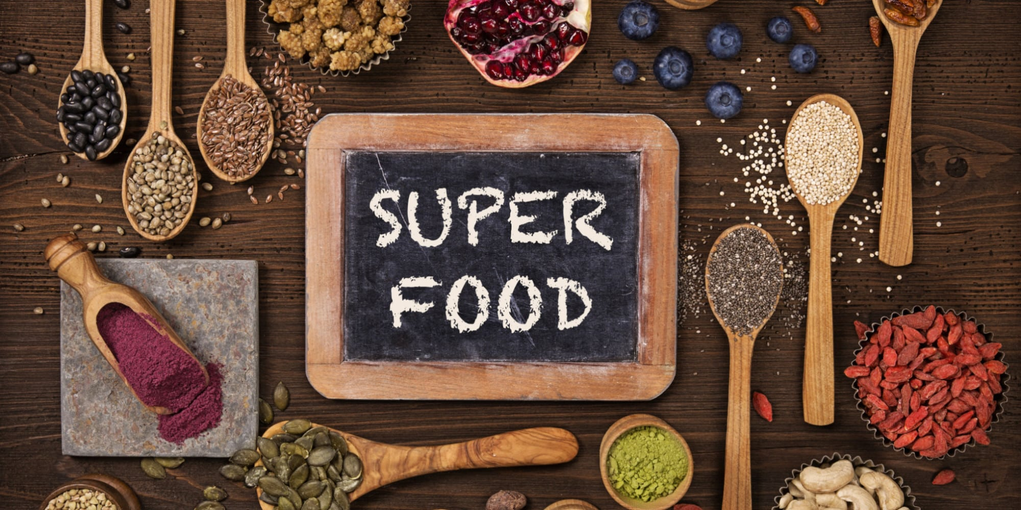 Superfoods in je thee