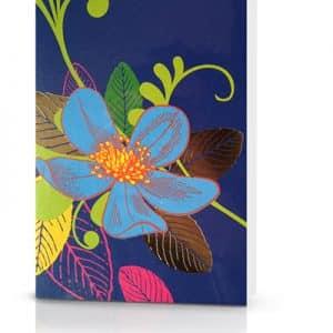 maison flower kaart