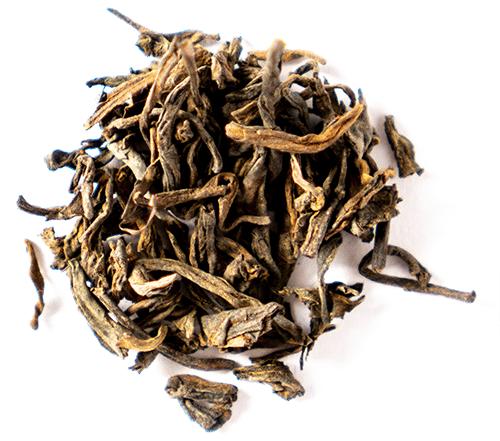 Pu erh - rich, dark tea