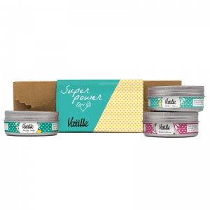 Superpower giftset met Happy body, Lekker slapen en Zennnsationeel