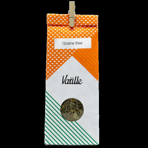 Deze Gunpowder (groene thee) zit vol antioxidanten. Proost!