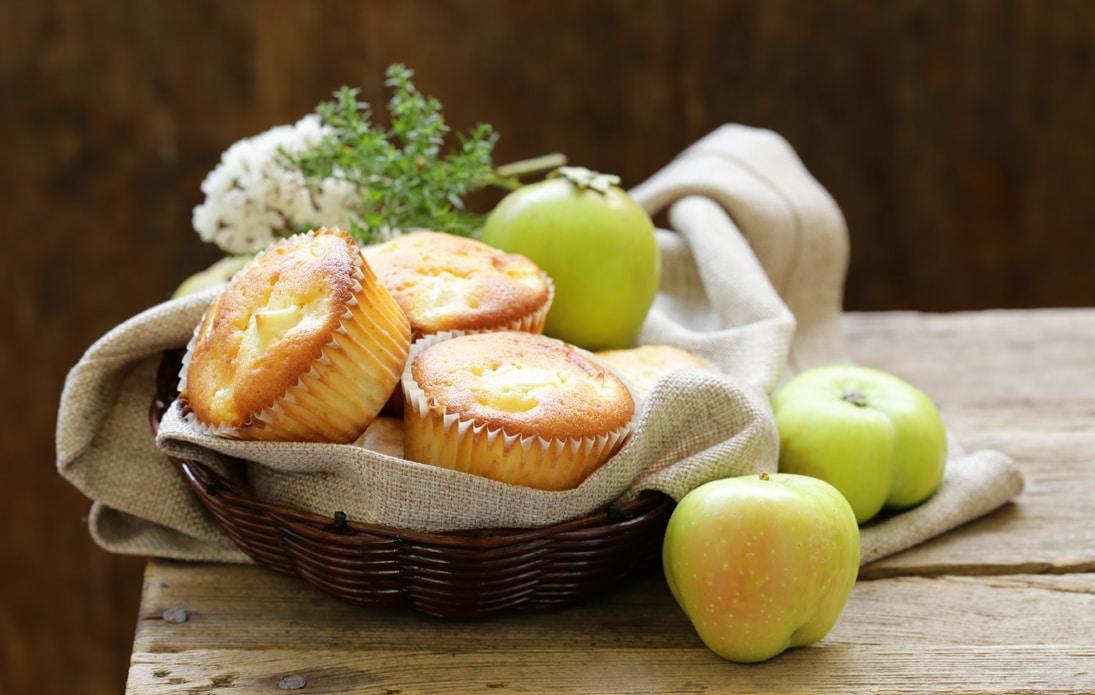 Honingbos appelmuffins